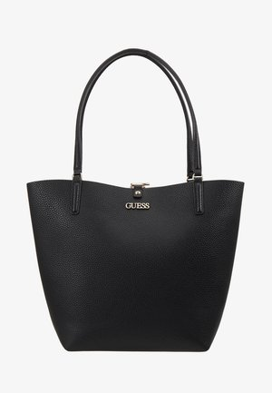 ALBY TOGGLE TOTE SET - Handtasche - black