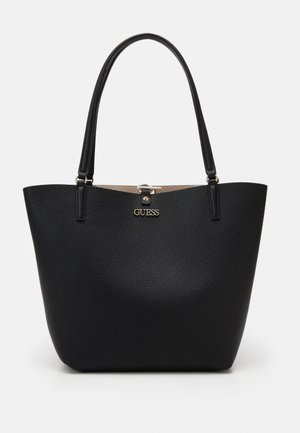 ALBY TOGGLE TOTE SET - Handtasche - black/stone