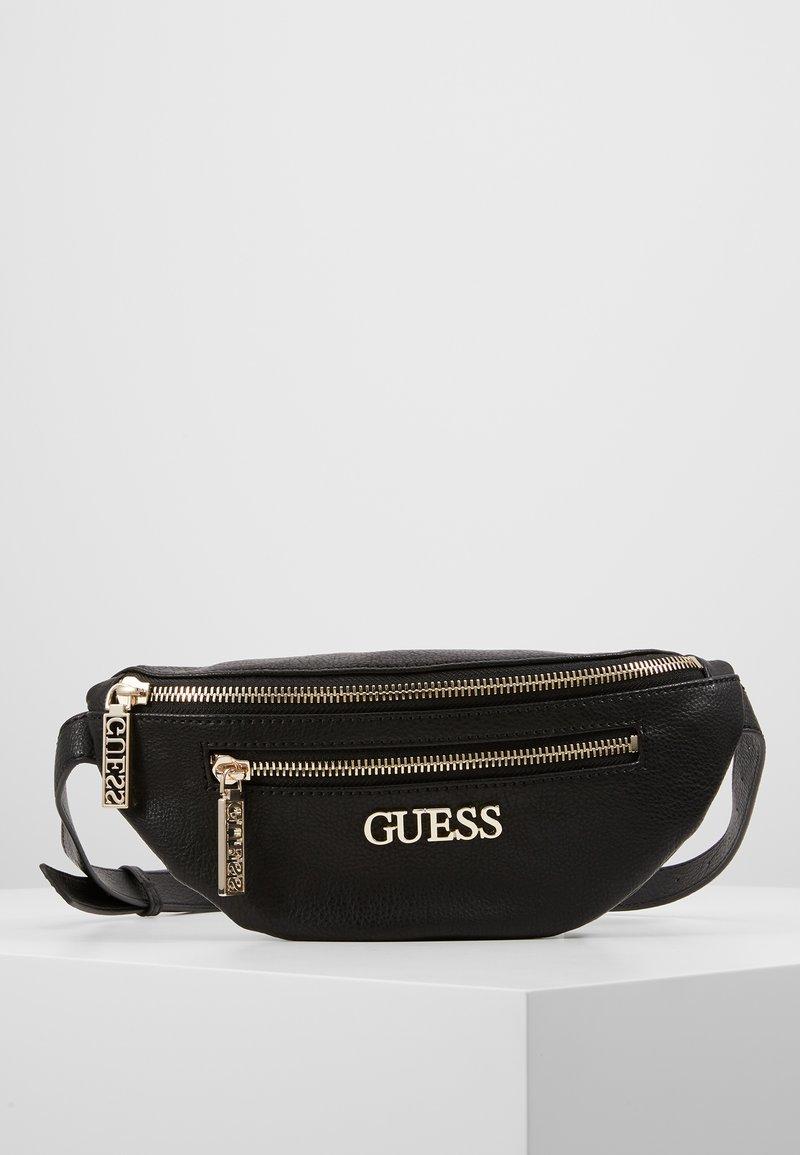 Guess - MANHATTAN BELT BAG - Gürteltasche - black