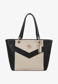 Guess - KAMRYN - Shopping bag - stone/multi - 5