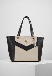 Guess - KAMRYN - Shopping bag - stone/multi - 0