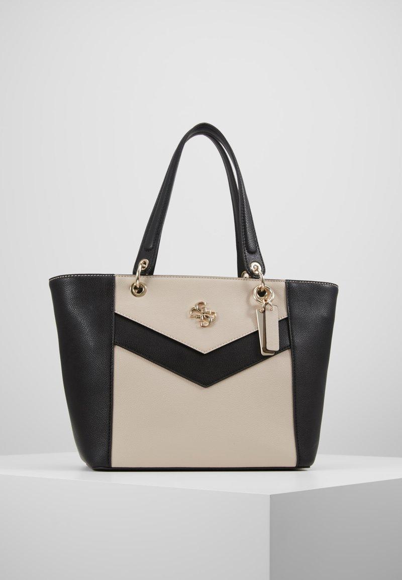 Guess - KAMRYN - Shopping bag - stone/multi