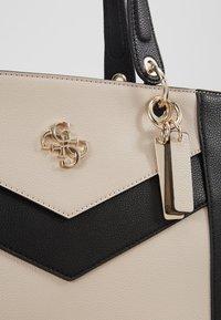 Guess - KAMRYN - Shopping bag - stone/multi - 6