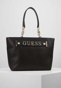 Guess - KERRIGAN  - Shopping bags - black - 0