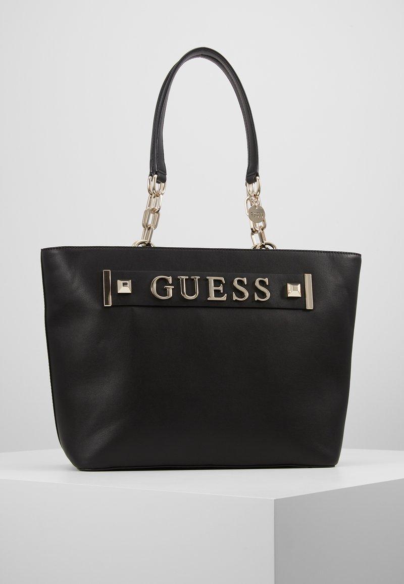 Guess - KERRIGAN TOTE - Handbag - black