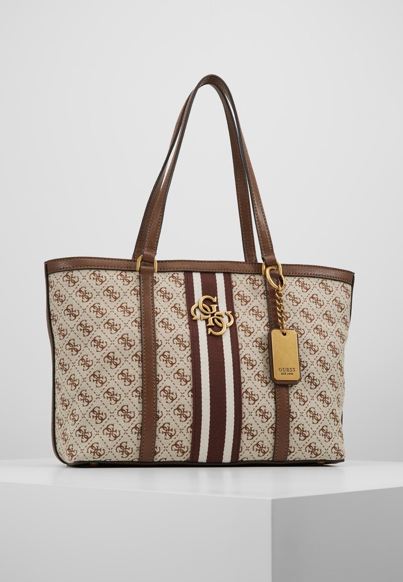 Guess - VINTAGE TOTE - Handtasche - brown