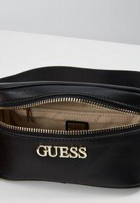 Guess - CALISTA BELT BAG - Rumpetaske - black - 4