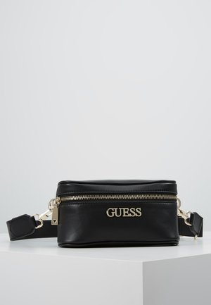 CALISTA BELT BAG - Ledvinka - black