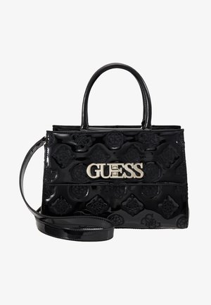 GUESS CHIC GIRLFRIEND SATCHEL - Kabelka - black