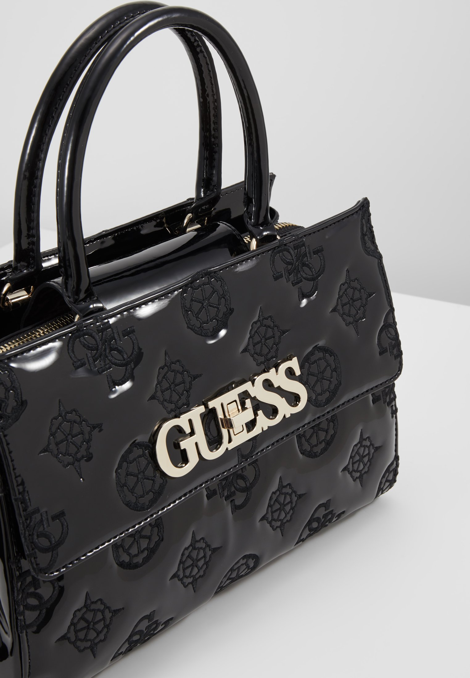 Guess Chic Girlfriend Satchel - Håndveske Black