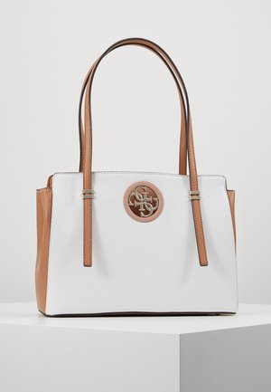 OPEN ROAD LUXURY SATCHEL - Bolso de mano - tan multi