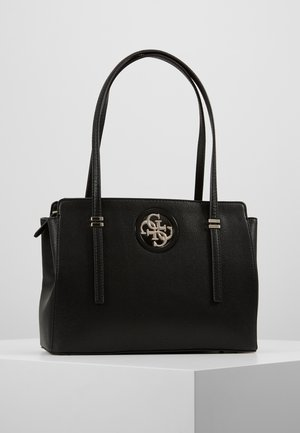 OPEN ROAD LUXURY SATCHEL - Handtas - black