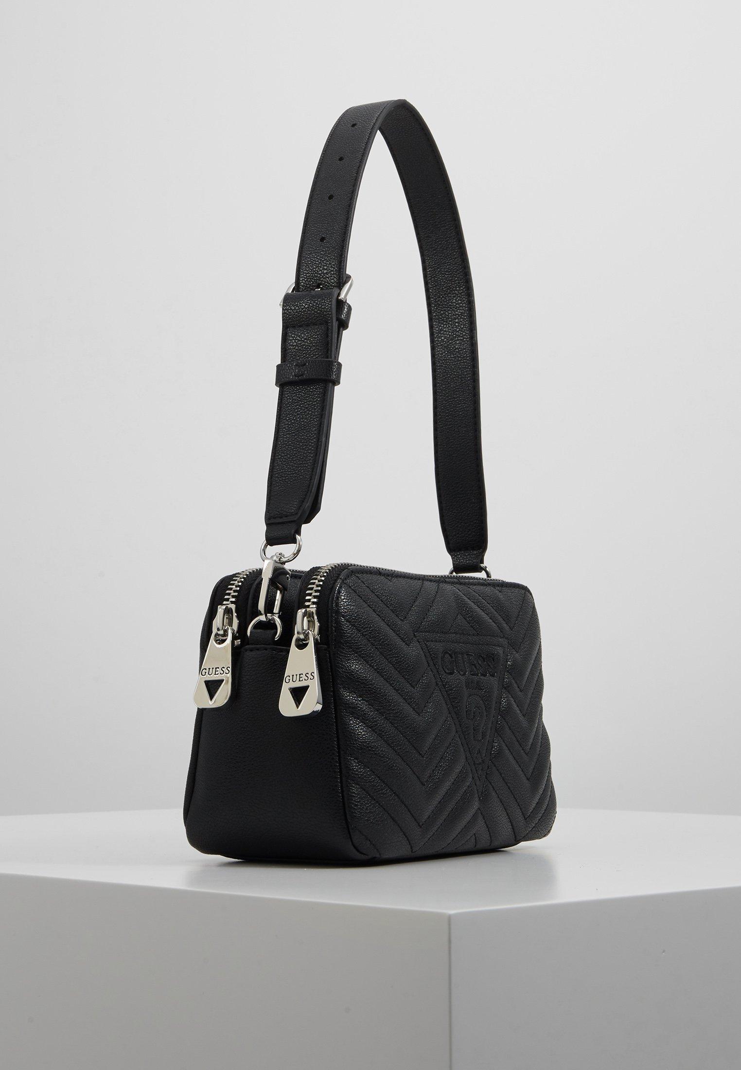 Guess Zana Shoulder Bag - Sac À Main Black