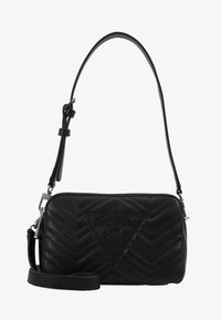 Guess - ZANA SHOULDER BAG - Sac à main - black - 5