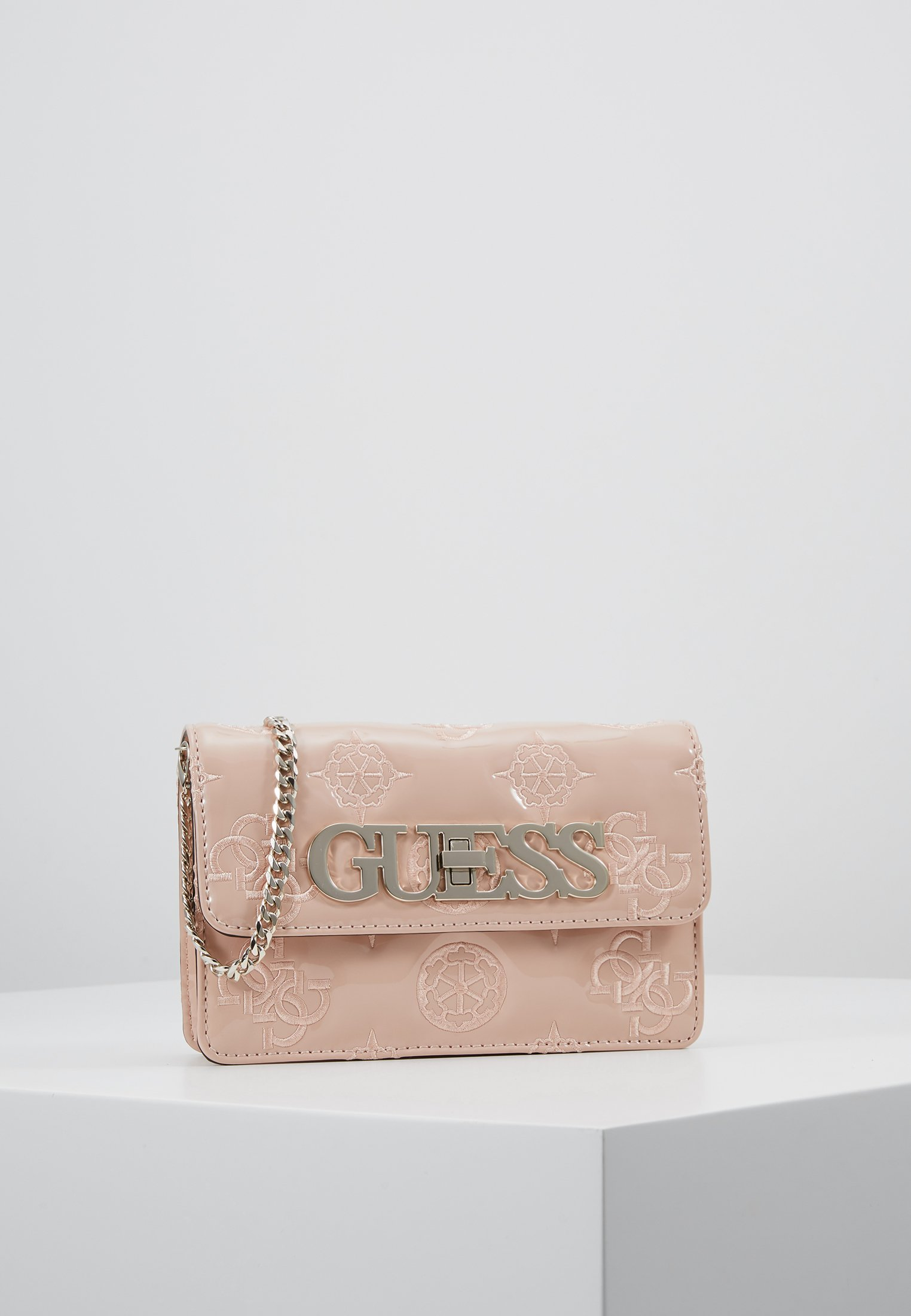 Guess BRIELLE CONVERTIBLE XBODY FLAP Skulderveske taupe