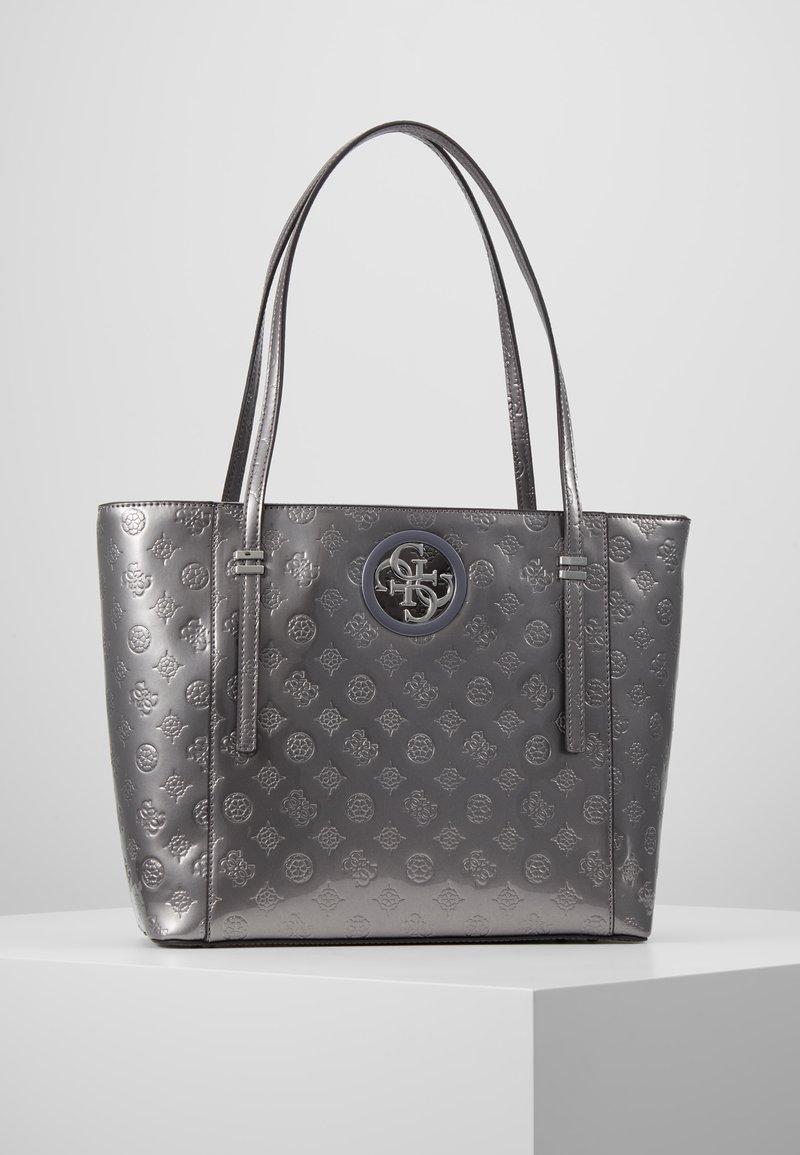 Guess - OPEN ROAD TOTE - Handbag - pewter