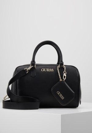 CALISTA BOX SATCHEL - Handtas - black