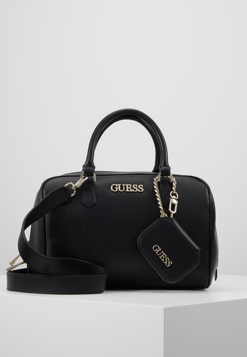 Guess - CALISTA BOX SATCHEL - Borsa a mano - black