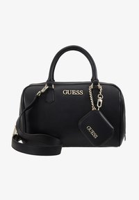 Guess - CALISTA BOX SATCHEL - Borsa a mano - black - 7