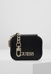 Guess - CALISTA BOX SATCHEL - Borsa a mano - black - 5