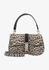Guess - ASHER SHOULDER BAG - Torba na ramię - brown - 5