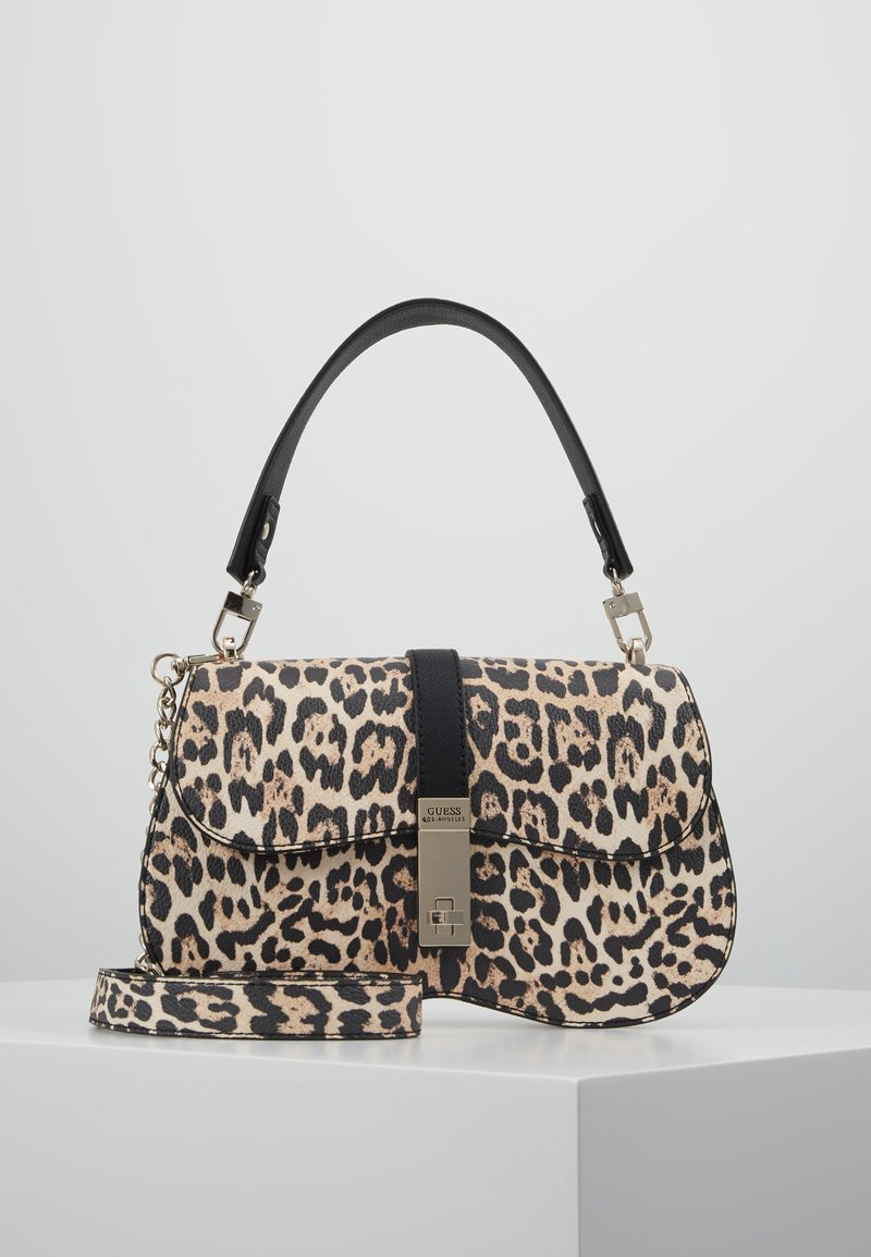 Guess - ASHER SHOULDER BAG - Taška spříčným popruhem - brown