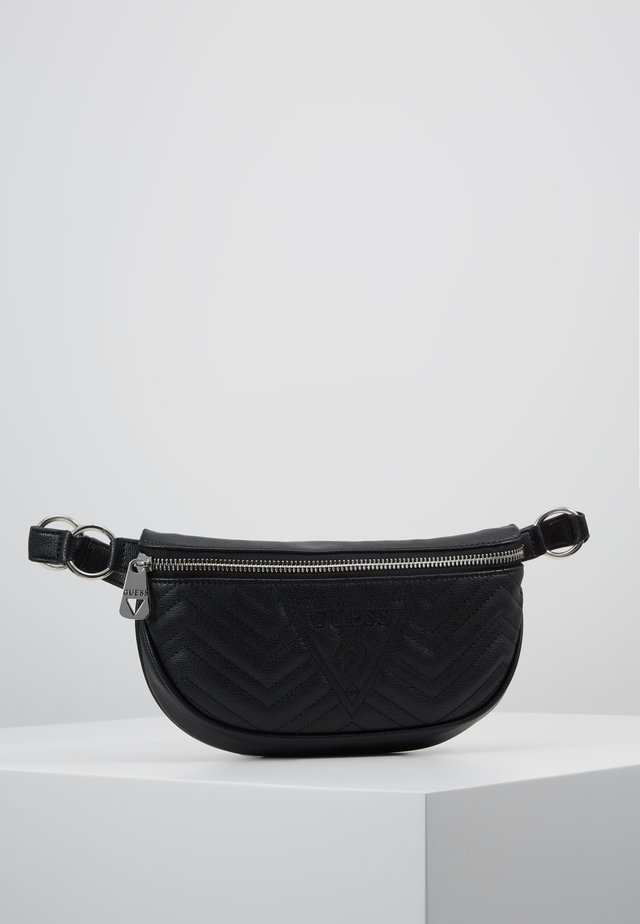 ZANA BELT BAG - Ledvinka - black