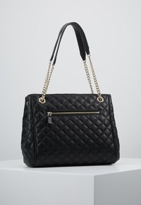 Guess - BRIELLE GIRLFRIEND SATCHEL - Kabelka - black - 2