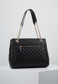 Guess - BRIELLE GIRLFRIEND SATCHEL - Handbag - black - 2