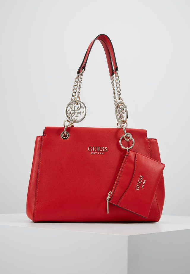 TARA GIRLFRIEND SATCHEL SET - Kabelka - red