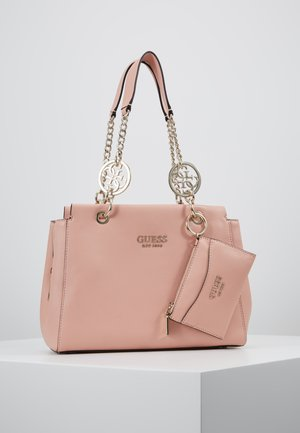 TARA GIRLFRIEND SATCHEL SET - Handbag - peach