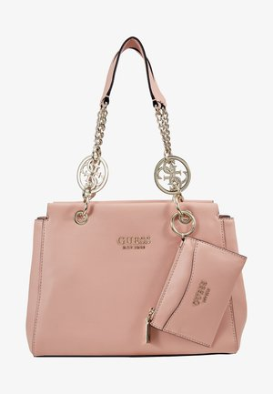 TARA GIRLFRIEND SATCHEL SET - Sac à main - peach