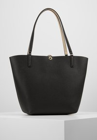 Guess - ALBY TOGGLE TOTE SET - Bolso shopping - black/gold - 2