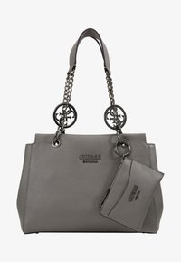 Guess - TARA GIRLFRIEND SATCHEL - Handbag - grey - 6
