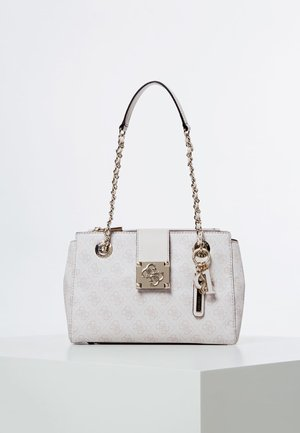 LOGO CITY SML SOCIETY SATCHEL - Handtasche - light grey