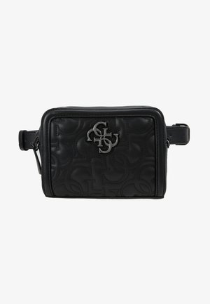 NEW WAVE CONVERTIBLE BELT BAG - Ledvinka - black