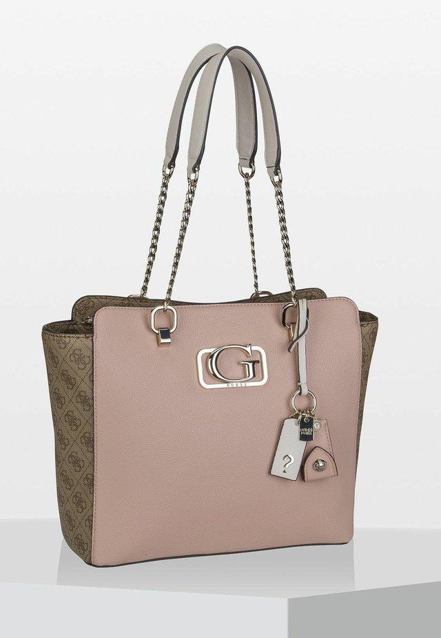 ANNARITA CARRYALL - Handbag - rose