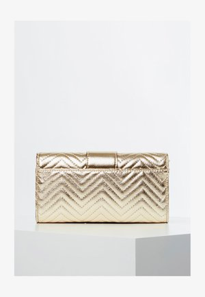 GUESS CLUTCH NIGHT TWIST METALLIC-OPTIK - Clutch - goldenfarbe
