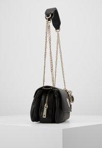 Guess - NARITA CONVERTIBLE CROSSBODY - Handbag - black - 4