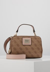 Guess - CANDACE MINI CROSSBODY - Sac à main - brown - 0