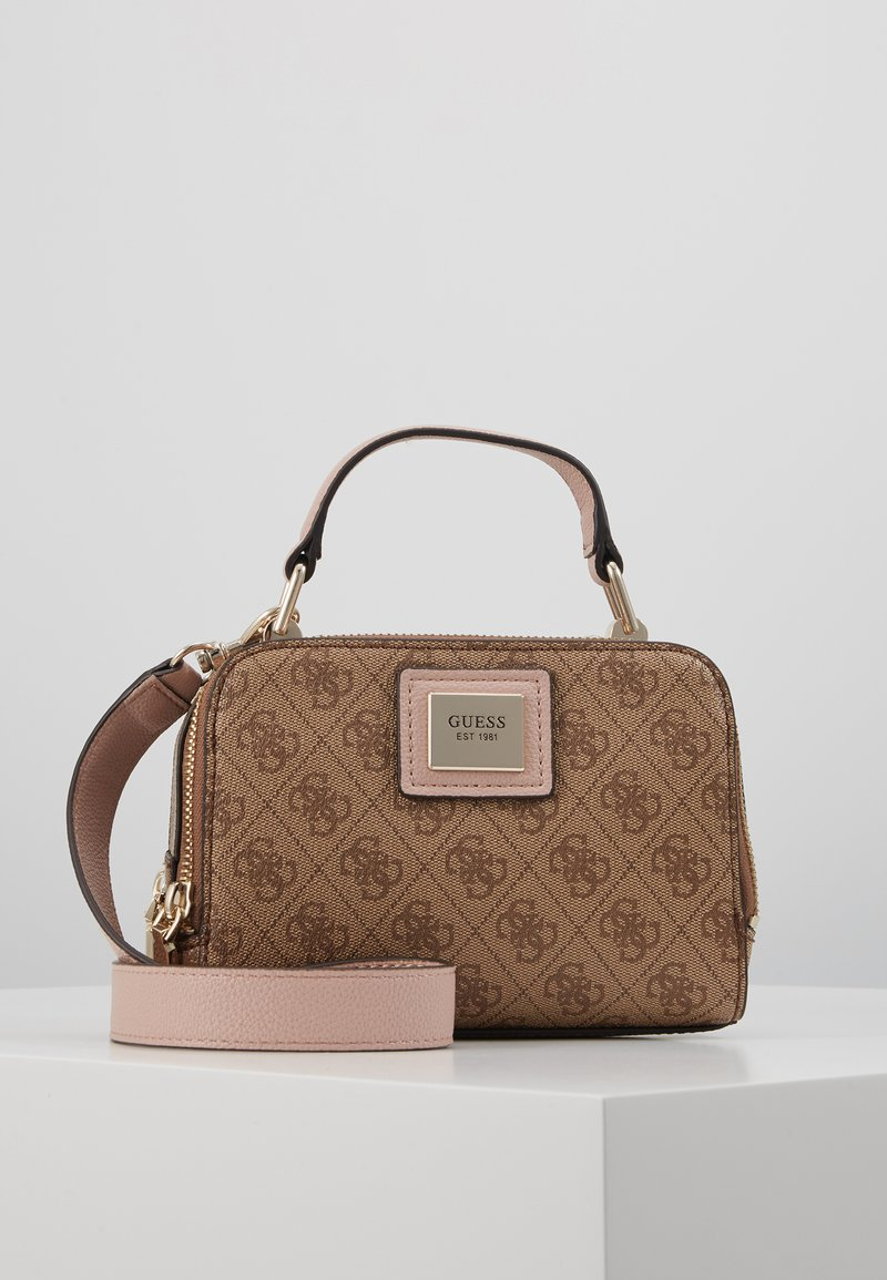 Guess - CANDACE MINI CROSSBODY - Sac à main - brown