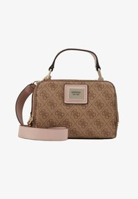 Guess - CANDACE MINI CROSSBODY - Sac à main - brown - 5