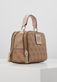 Guess - CANDACE MINI CROSSBODY - Sac à main - brown - 3
