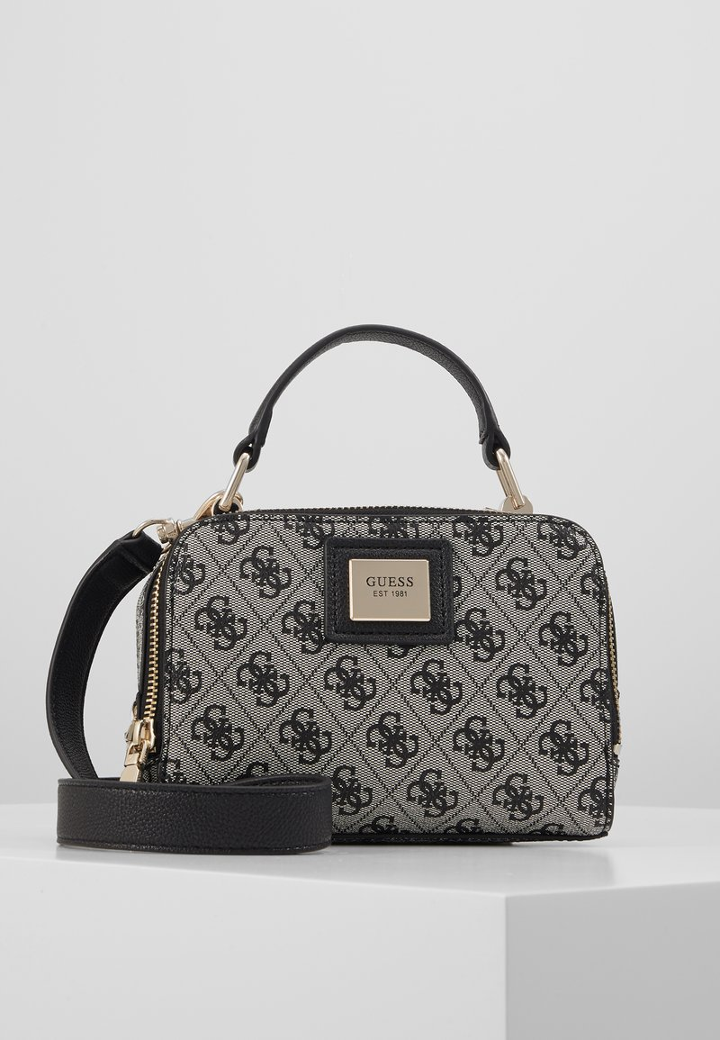 Guess - CANDACE MINI CROSSBODY - Handbag - black