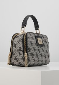 Guess - CANDACE MINI CROSSBODY - Handbag - black - 4