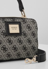 Guess - CANDACE MINI CROSSBODY - Handbag - black - 2