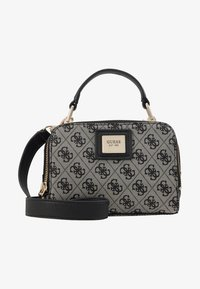 Guess - CANDACE MINI CROSSBODY - Handbag - black - 1
