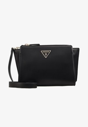 TANGEY MINI CROSSBODY TOP ZIP - Schoudertas - black