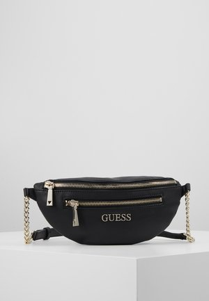 CALEY BELT BAG - Ledvinka - black