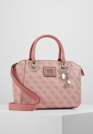 CANDACE SOCIETY SATCHEL - Handbag - coral